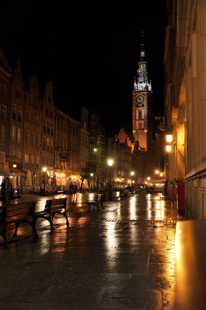 Danzig bei Nacht
