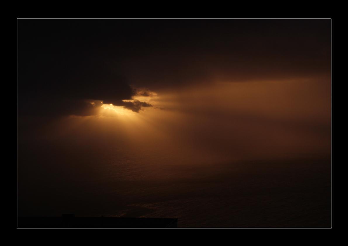 Dar Abend vor dem Sturm