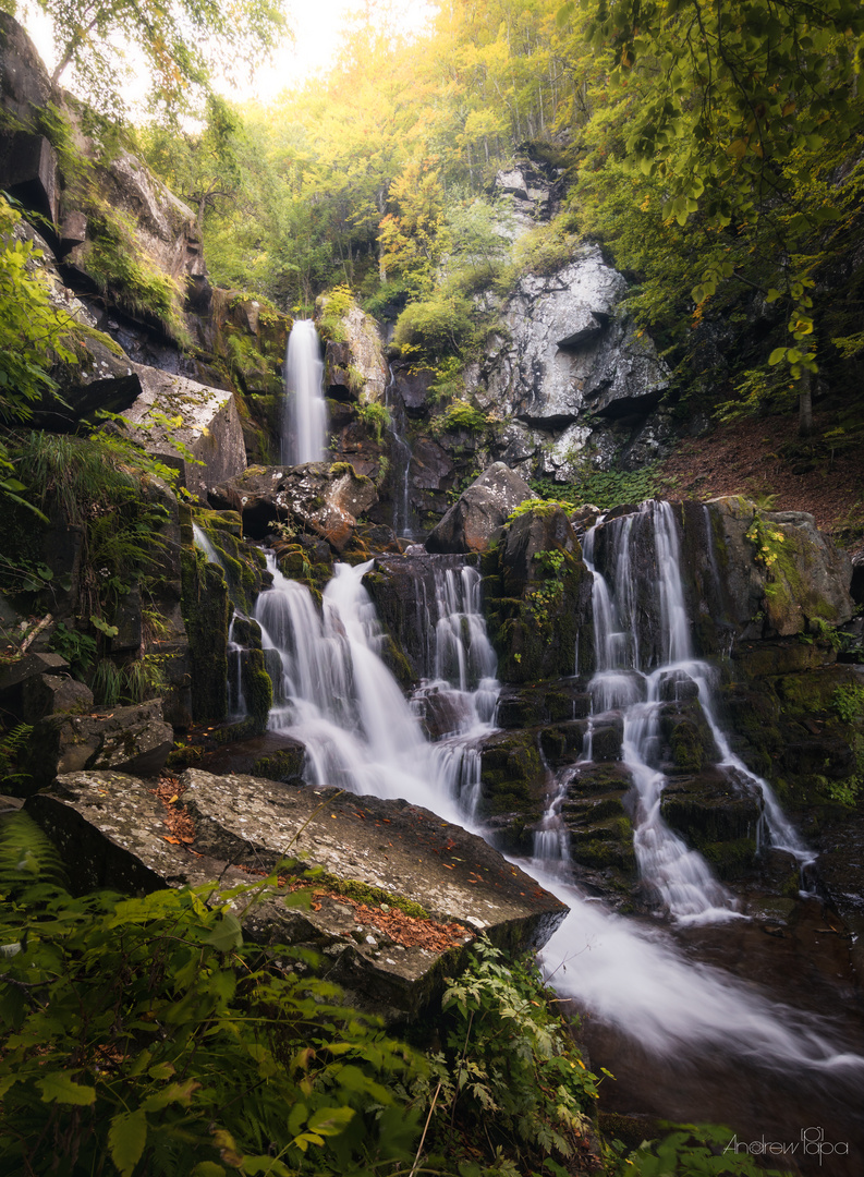 Dardagna Waterfalls