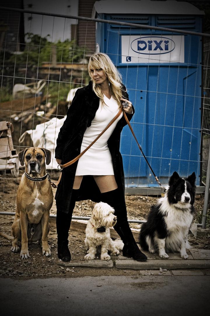 Daria und ihre Hunde