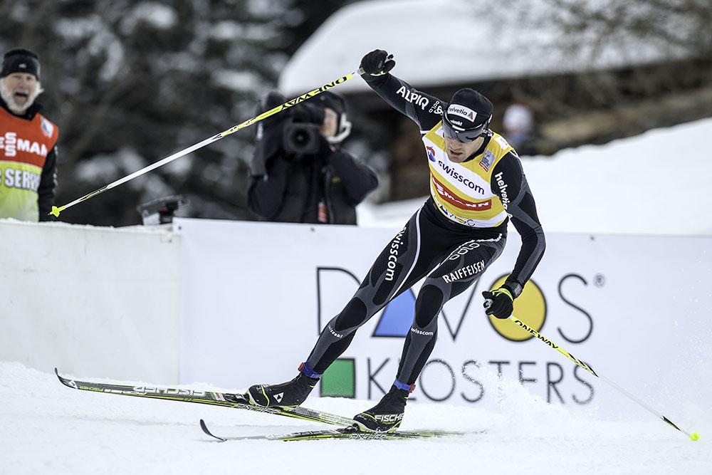 Dario Cologna an Davos Nordic 2013
