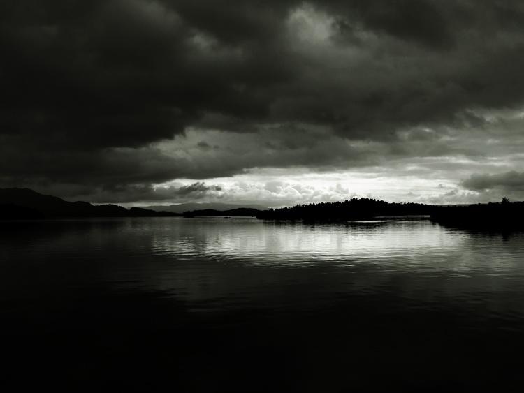 ...dark...