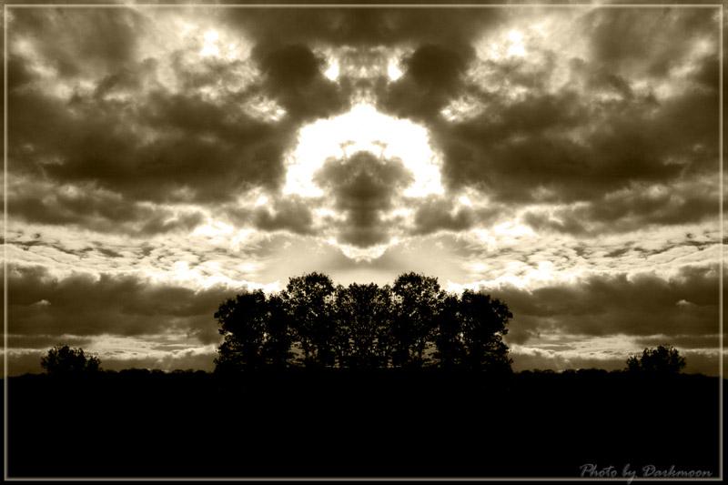Dark Angel in the Sky
