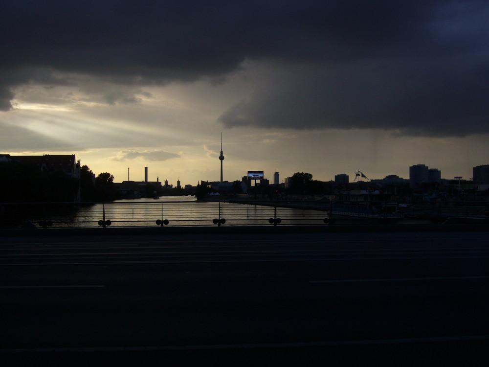 Dark clouds over Berlin
