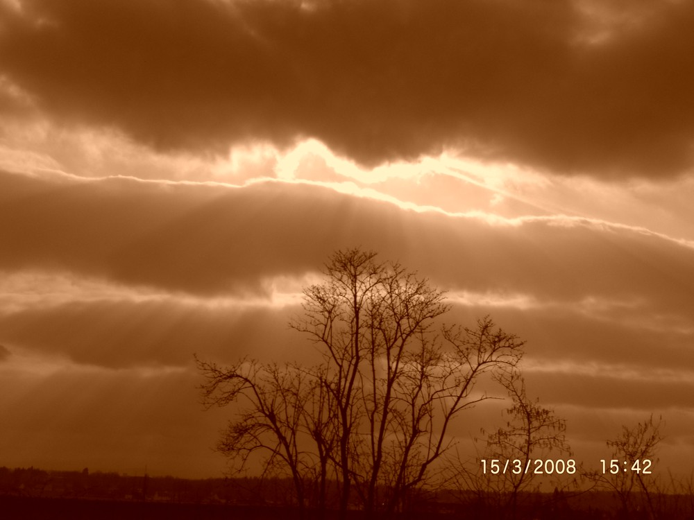 dark clouds siver lining