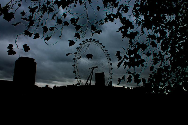 Dark London Eye - 26 Okt 2013