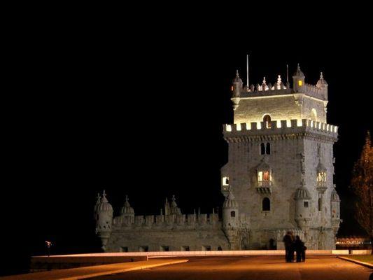Dark Night - Belém Tower - Lisbon