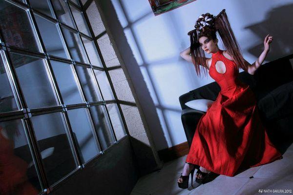 Dark Red Elegance