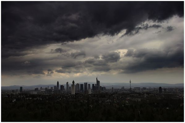 Darkness over Frankfurt