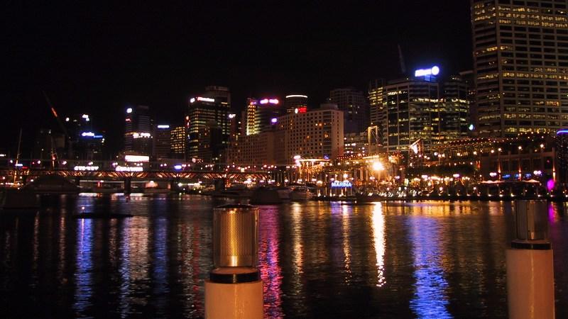 Darlingharbour, Sydney, night
