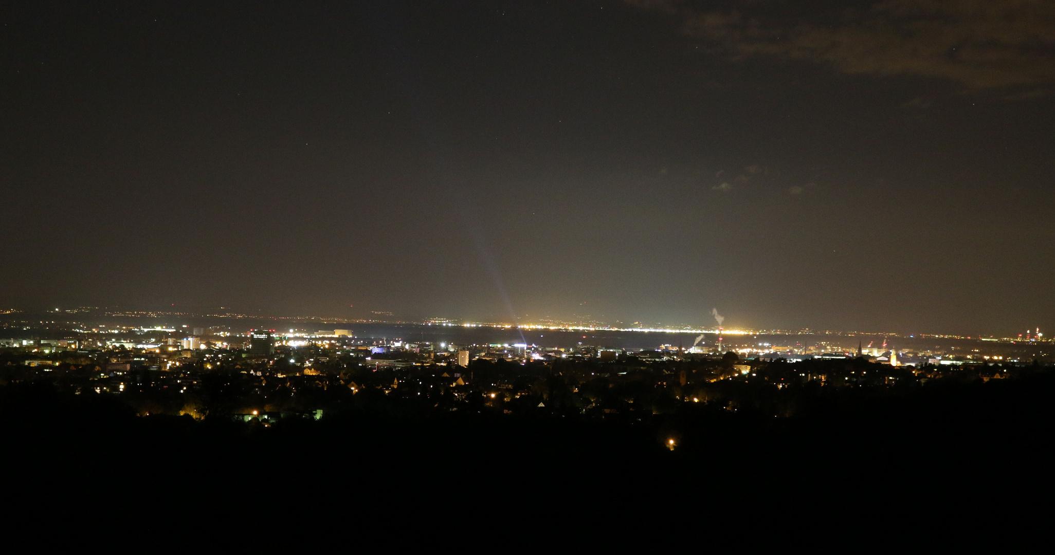 Darmstadt bei Nacht...?