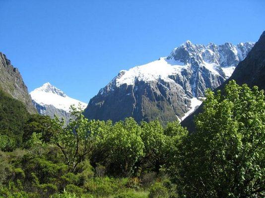 Darran Mountains - Neuseeland (Südinsel)