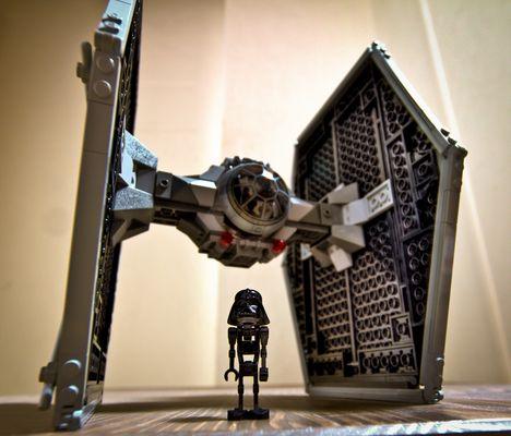 Darth Vader nackt!