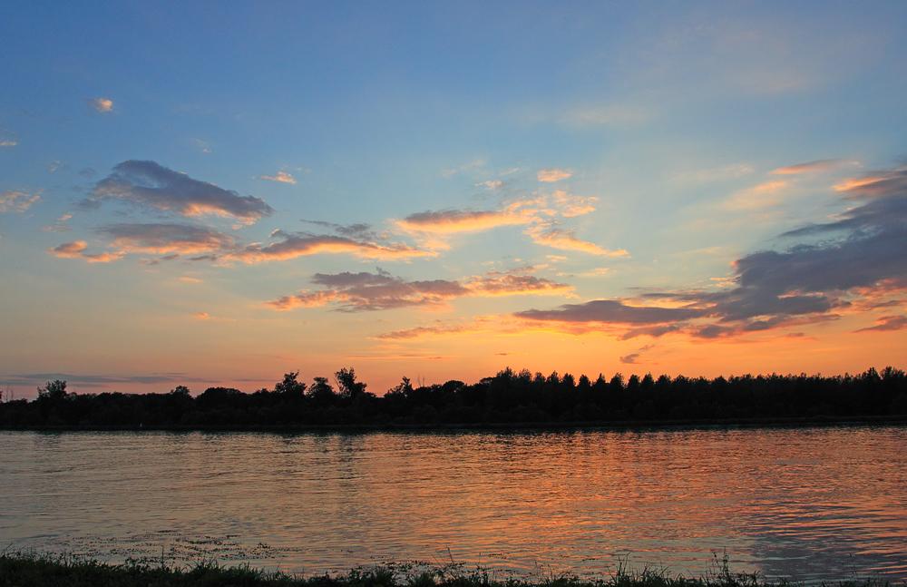 Darum ists am Rhein so schön.