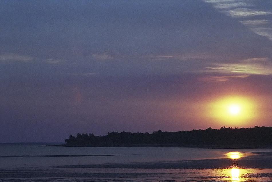 Darwin - Sonnenuntergang