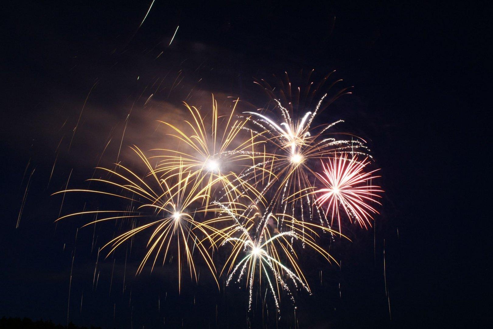 Das 2. Mal Feuerwerk fotografiert