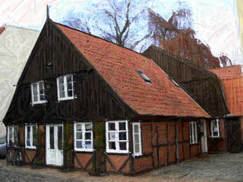 das lteste haus in neum nster nummer 2 1 buntstift foto bild deutschland europe. Black Bedroom Furniture Sets. Home Design Ideas