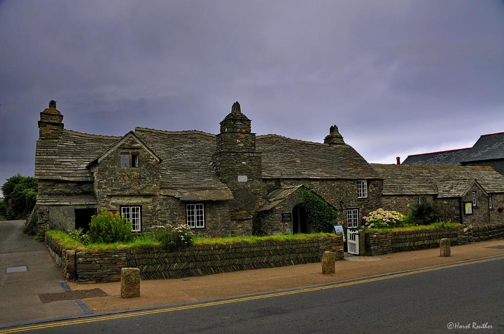 Das älteste Postgebäude in England / Tintagel / Cornwall
