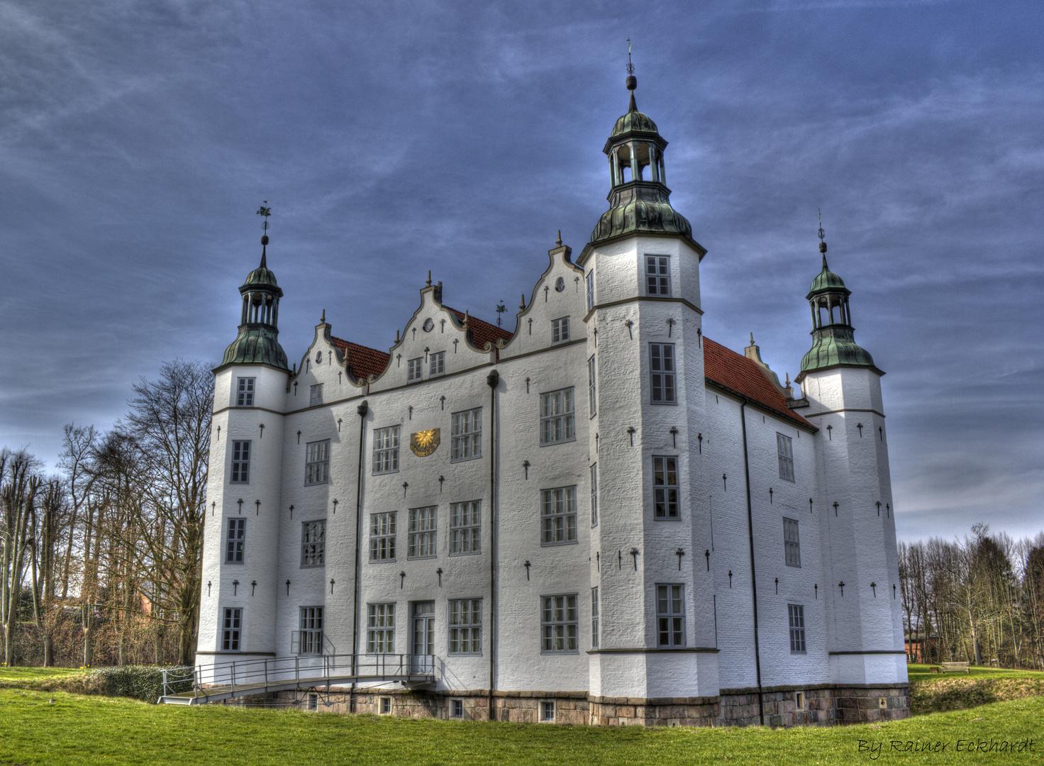 Das Ahrensburger Schloss in HDR