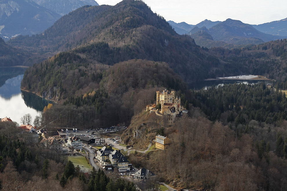 Das Allgäu mit dem Schloss Hohenschwangau