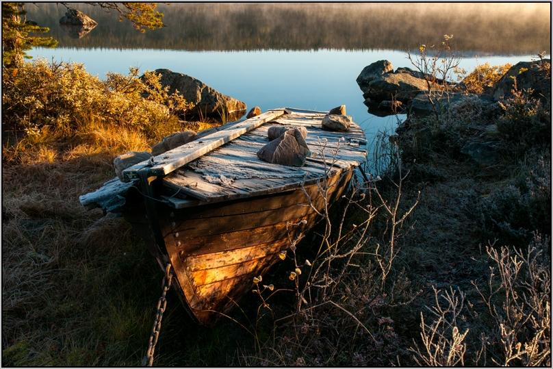 Das alte Boot ...