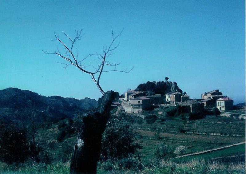 Das alte Dorf von Suzette