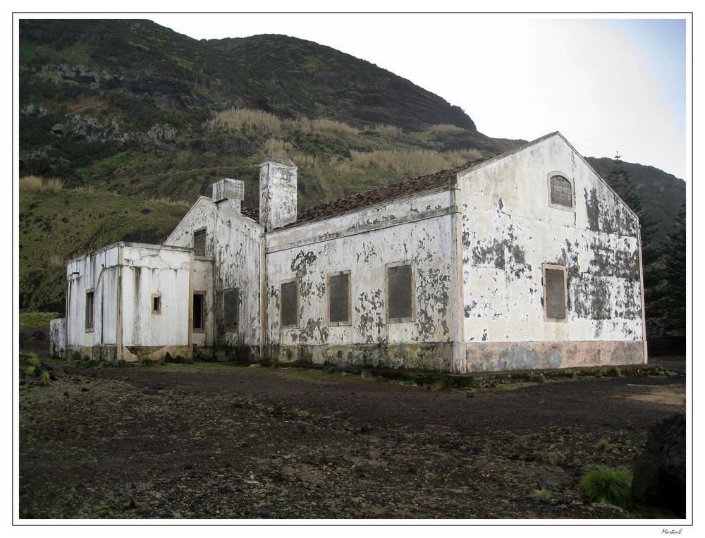 Das alte Haus in Ponta da Ferraria, Ginetes, Sao Miguel