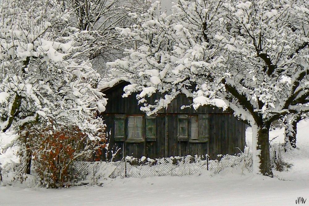 das alte Haus von vorne