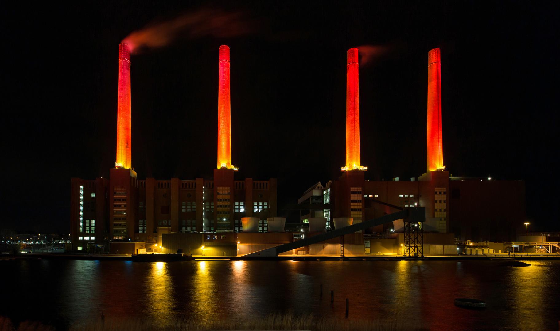 Das alte Heizkraftwerk...