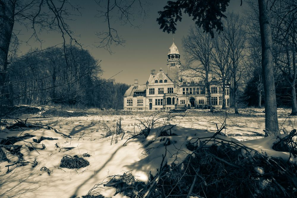 das alte Herrenhaus...
