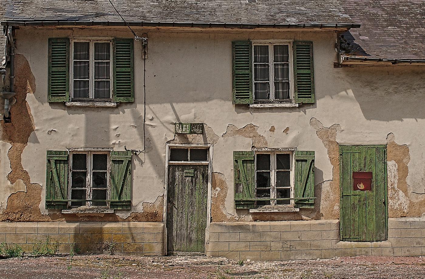 Das alte Landcafé . . .
