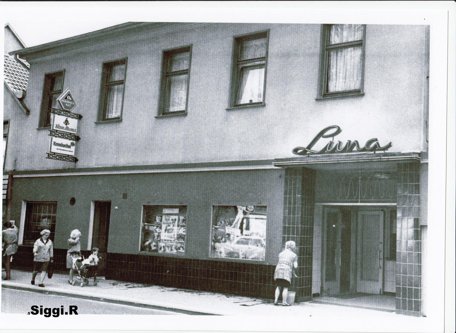 Das alte Luna-Kino in Essen-Steele