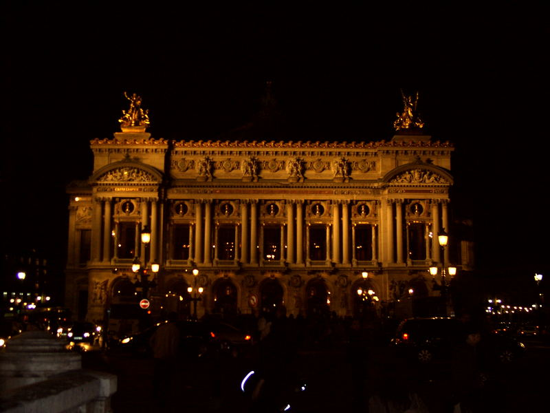 Das alte Opernhaus (Palais Garnier)