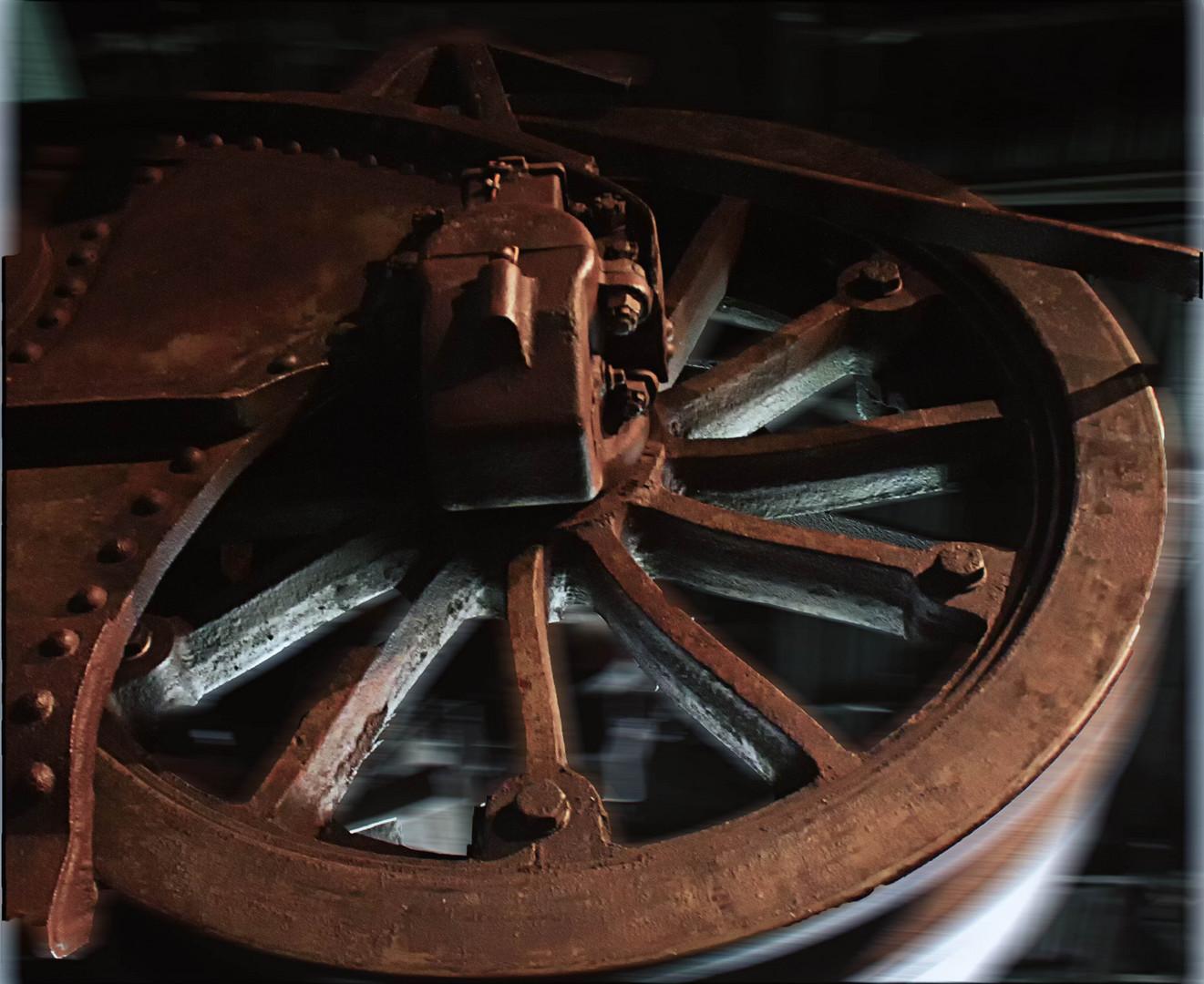 Das alte Rad ...