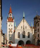 Das Alte Rathaus, bis 1874 Sitz des Münchner Magistrats...