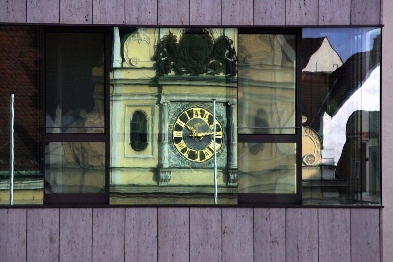 Das Alte Rathaus in Ingolstadt...