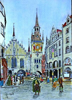 das alte Rathaus München