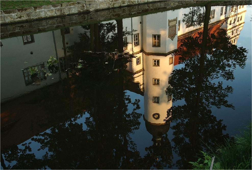 Das alte Schloss Zabeltitz...
