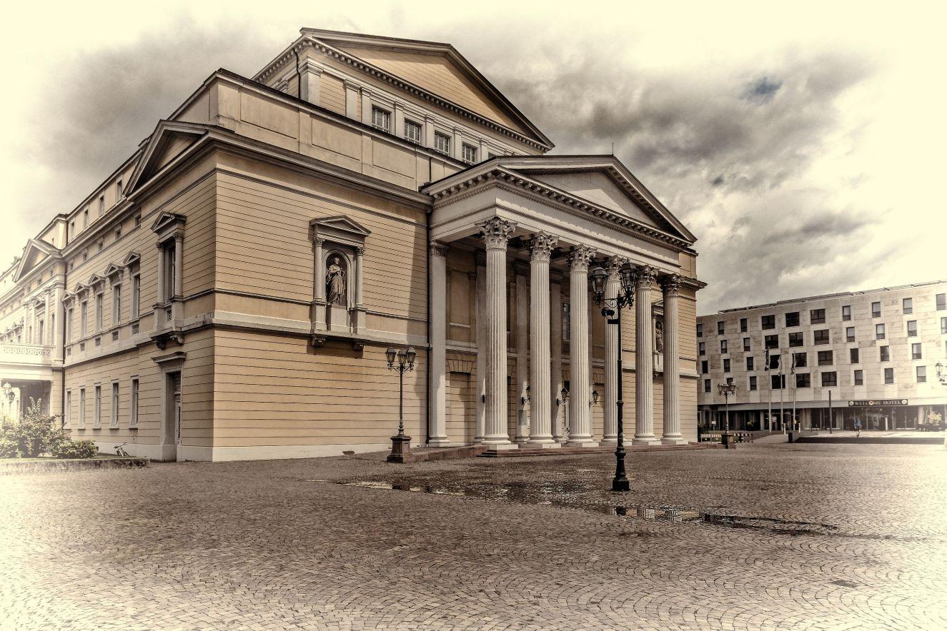 Das Alte Theater in Darmstadt