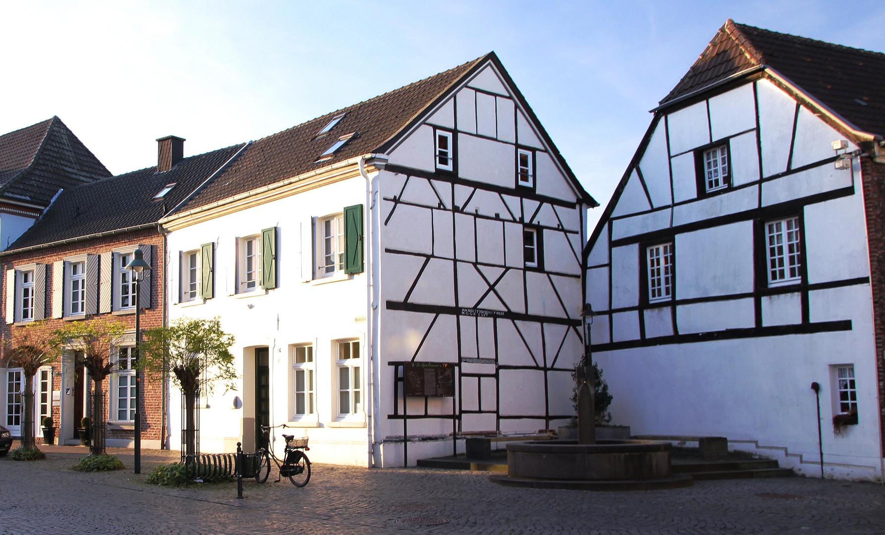 das alte Wachtendonk am Niederrhein