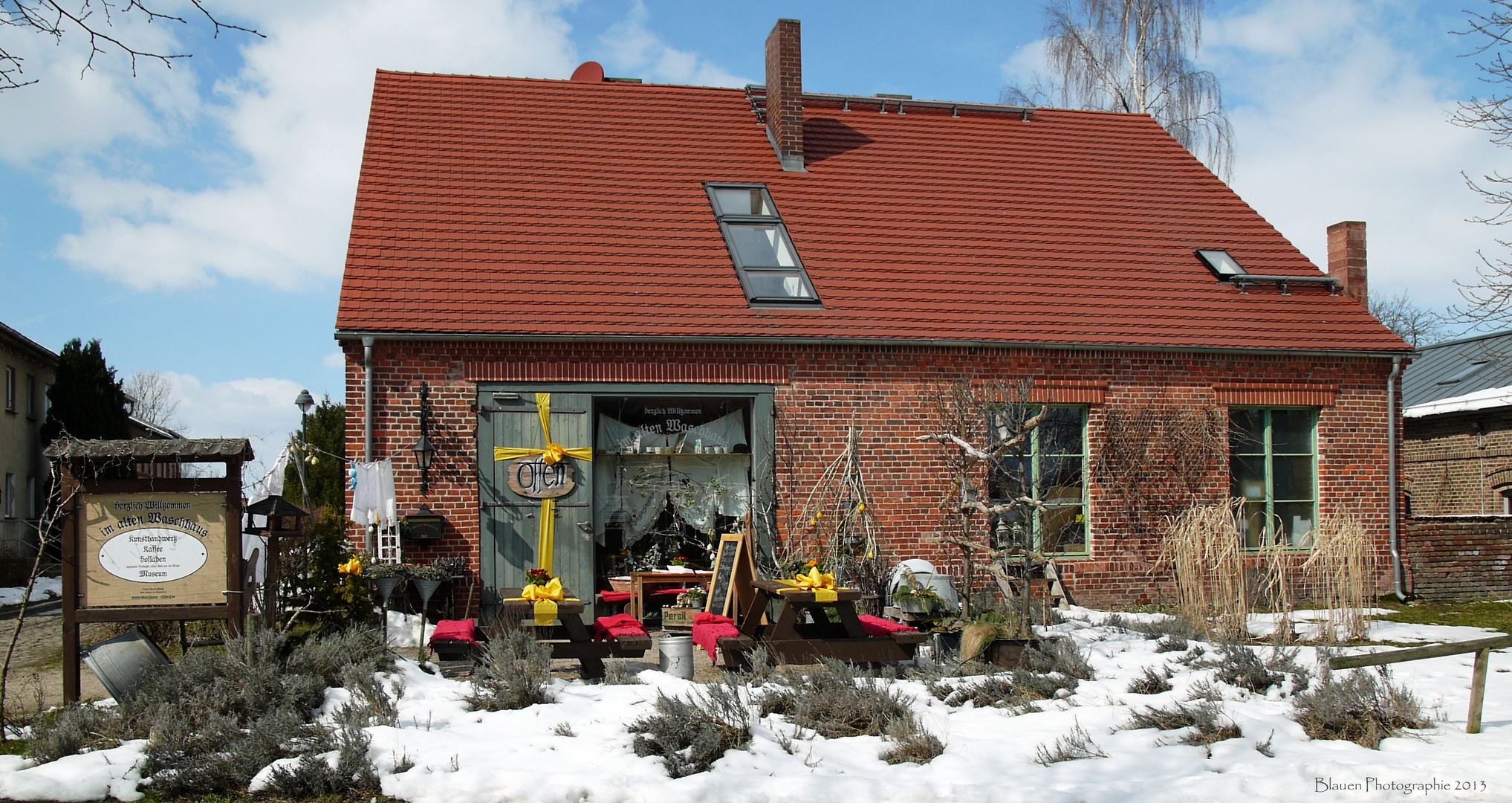 Das Alte Waschhaus in Ribbeck