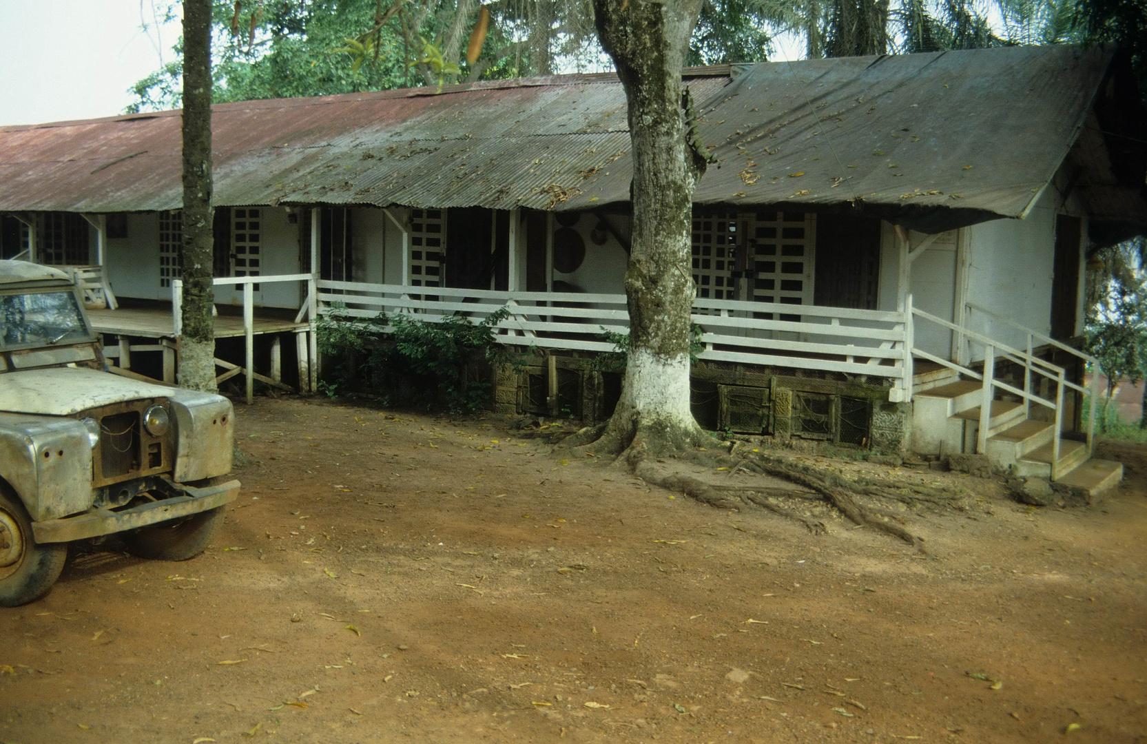 Das alte Wohnhaus von Albert Schweitzer, 1983