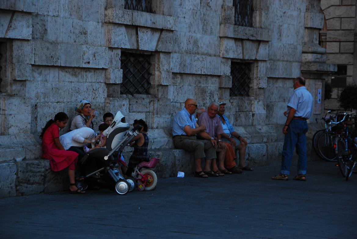 Das Alter und dieJungen in Italia
