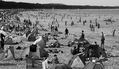 """Das alternative fotografische Solo 10 (""""street am strand"""" von werner (zwei ansichten))"""