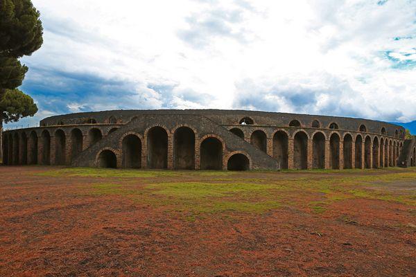 Das Amphitheater von Pompeji