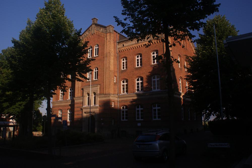 Das Amtsgericht in Warburg