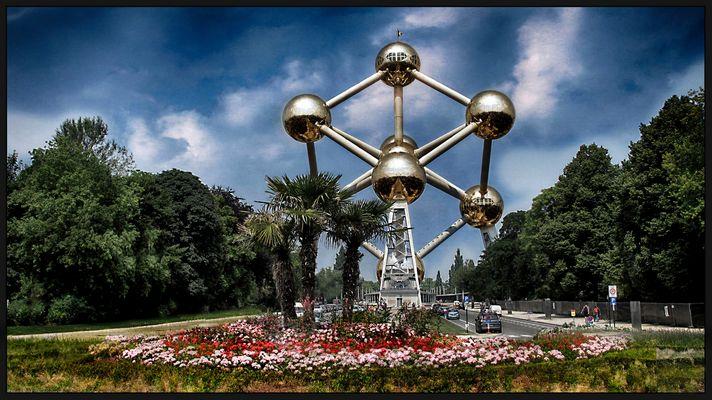 Das Atomium...