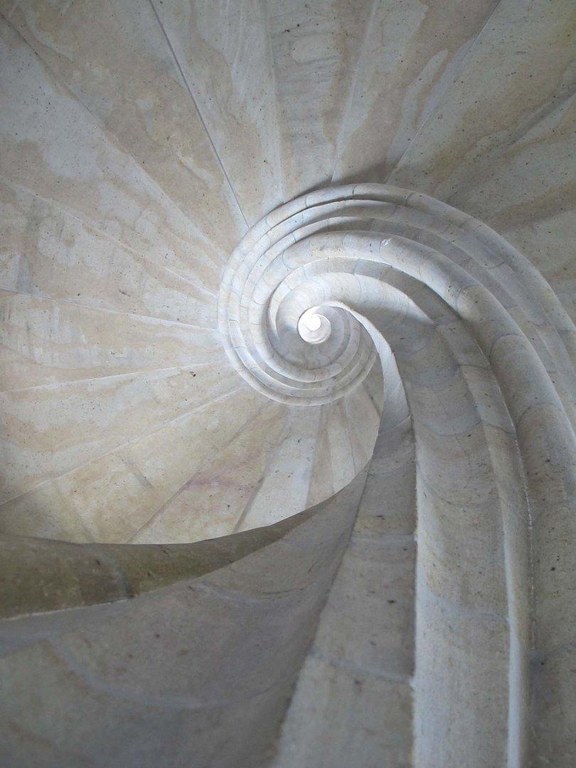 Das Auge der Treppe