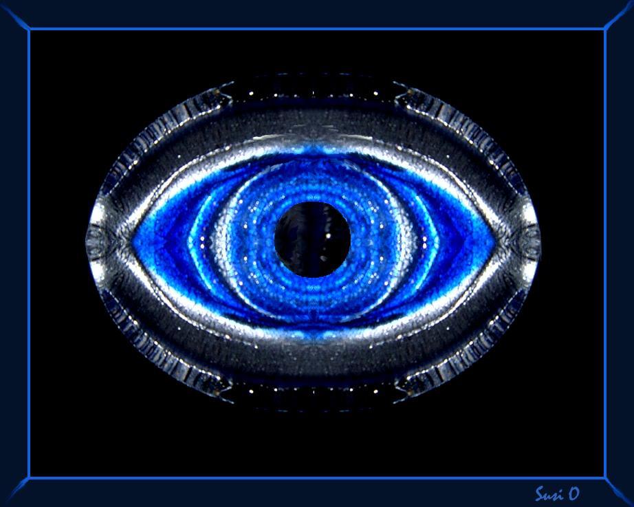 das Auge sieht alles