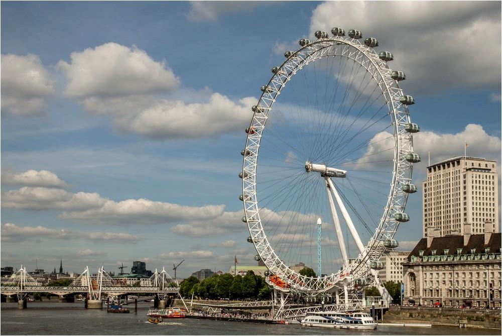 Das Auge von London ...